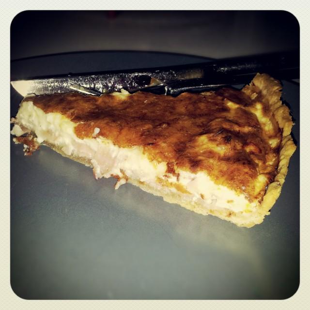 Fredagsmiddag ost och skink paj