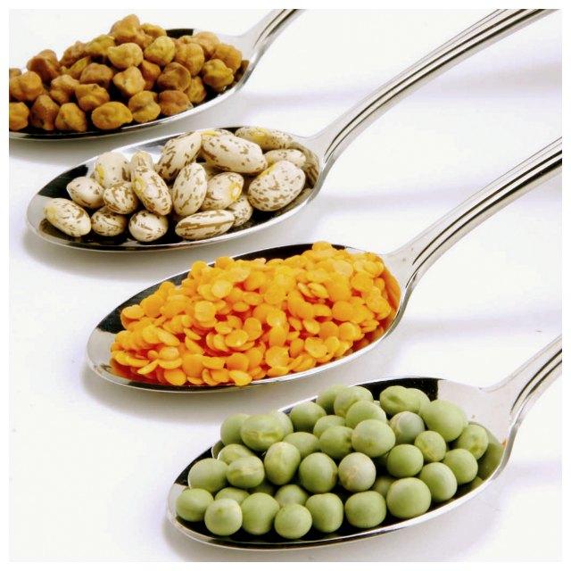 Baljväxter, baljväxt allergi, allergi mot ärter, bönor, linser, jordnötter och soja