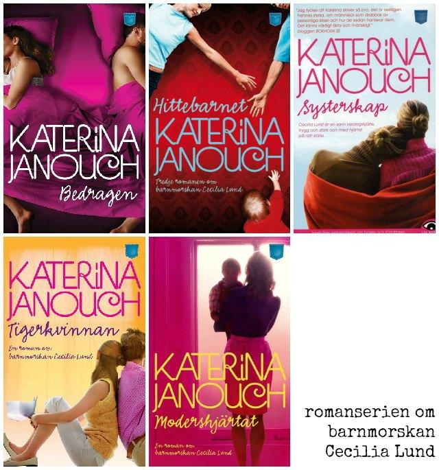 Önskar att läsa romanserien om Cecilia Lund av Katerina Janouch