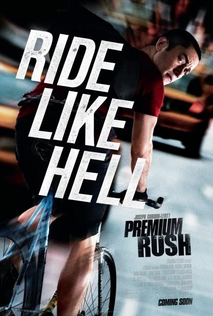 Filmen Premium Rush med Joseph Gordon-Levitt och Dania Ramirez