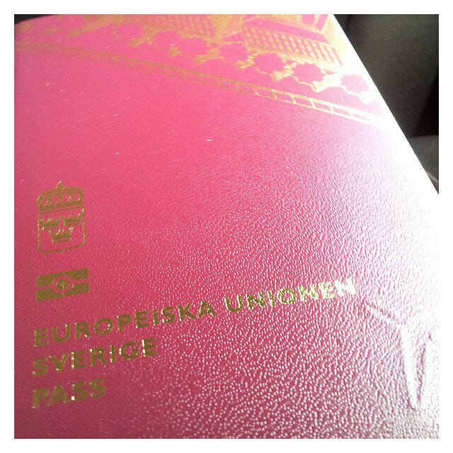 Nya passet uthämtat inför vår MasPalomas resa