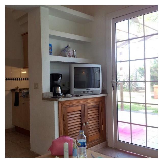Interiör bild från vår bungalow på Duna Golf, MasPalomas