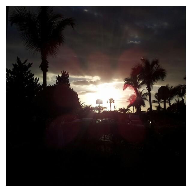 Solnedgång i MasPalomas