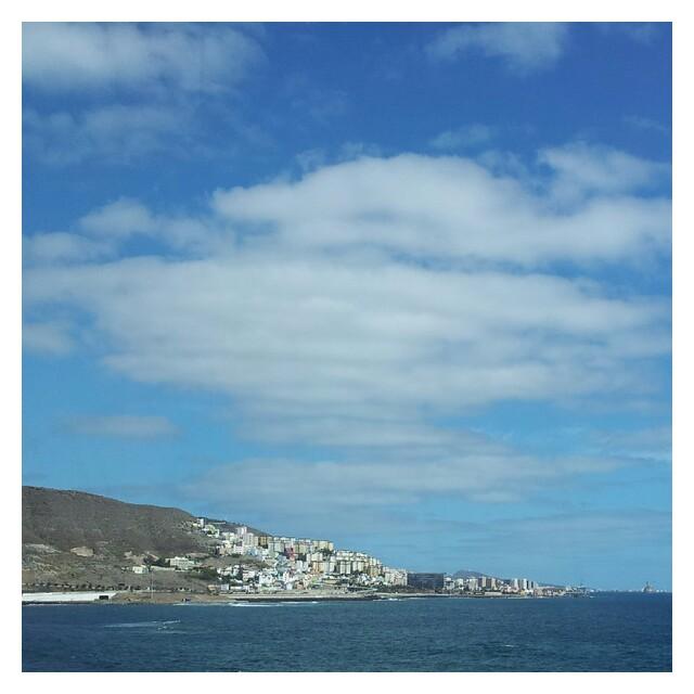 Las Palmas, huvudstaden på Gran Canaria