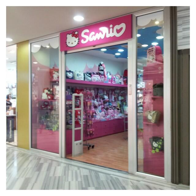 Sanrio Hello Kitty butik på CC Las Arenas, Mas Palomas
