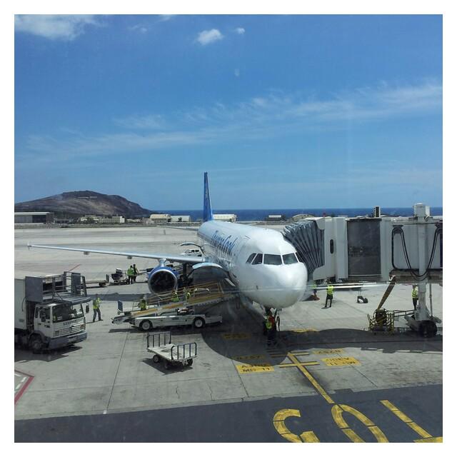 Flygplatsen på Gran Canaria