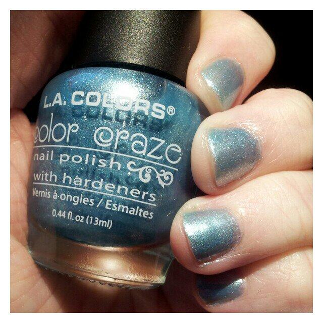 L.A. Colors - Color Craze nagellack nyans Ocean Mist
