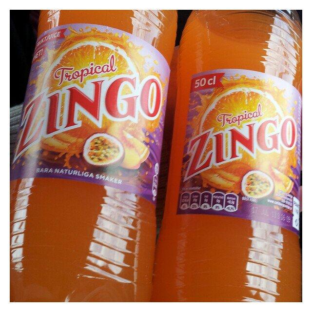 Nyhet från Zingo, Zingo Tropical med tropisk smak