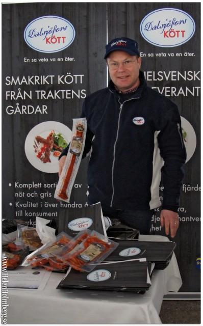Dalsjöfors kött i presstältet på citygross power meat 2013
