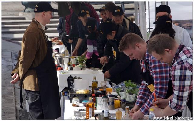 Deltagarna i kvaltävling 1 i Grill SM 2013