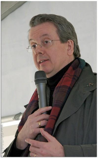 Richard Tellström, måltidsforskare vid Restaurang- och hotellhögskolan i Grythyttan känd från TV (Landet brunsås och Historieätarna)