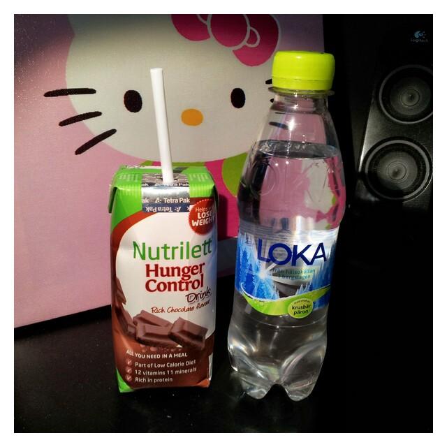 Nutrilett Hunger Control Drink Chocolate & Loka Krusbär och Päron