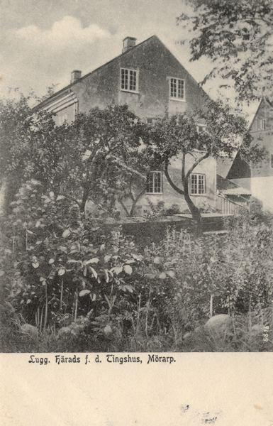 Luggude härads före detta Tingshus, Mörarp