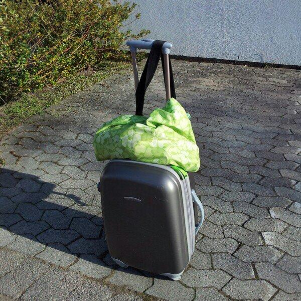 Packat resväskan och matsäcken inför Stockholmsresan