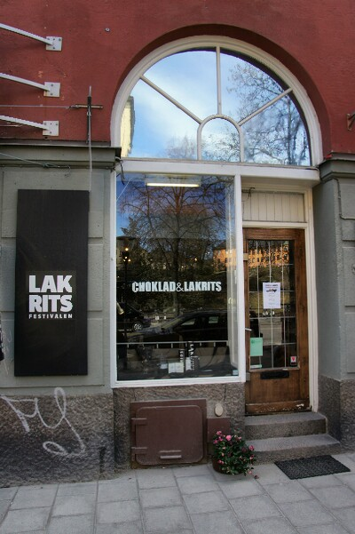 Shopping på Choklad & Lakrits, Sankt Eriksgatan i Stockholm