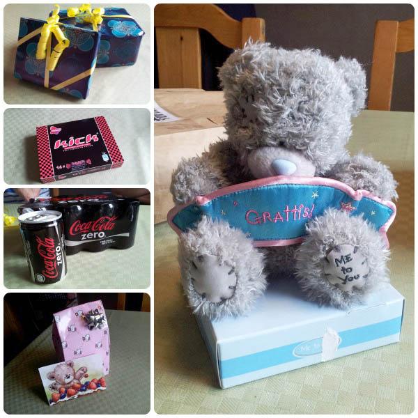 presenter från mamma och pappa samt syster & familj