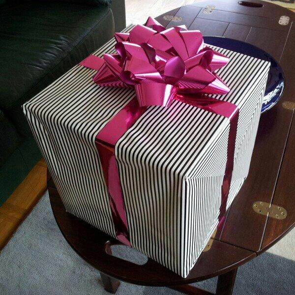 Födelsedagspresent till mig från min vän Anne