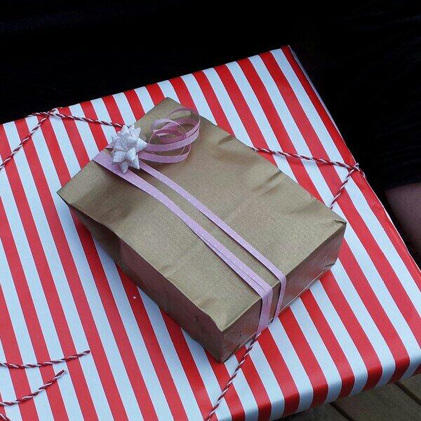 Födelsedagspresent till mig från svåger & familj och från sambons brorsdotter och familj