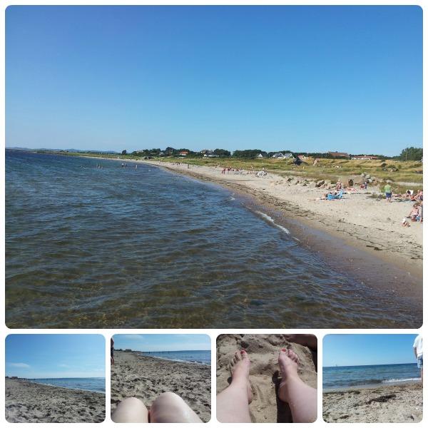 Viken strand vid forget, Höganäs kommun