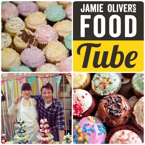 Jamie Olivers food tube har cupcake intruktionsvideos med Cupcake Gemma från Crumbs and doilies. Bilder lånade från Gemmas instagram kanal.