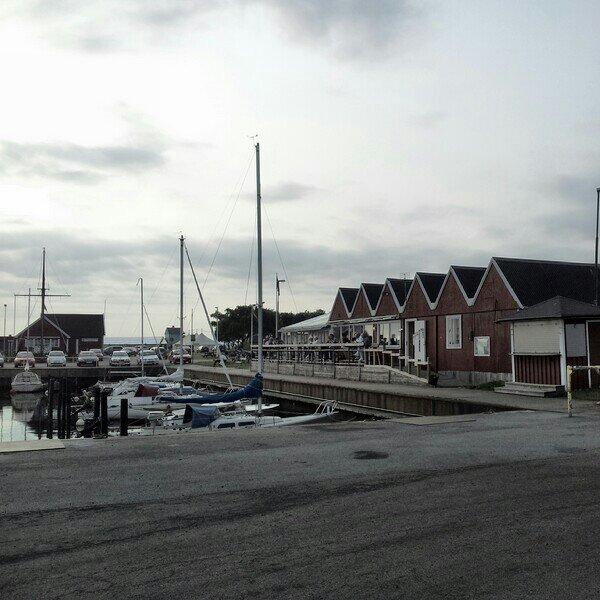Restaurang kajkanten i Höganäs hamn