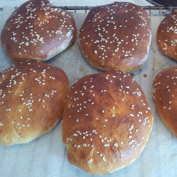 Lactoseefree hamburger buns