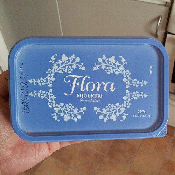 Flora mjölkfri bordsmagarin