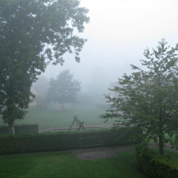 Dimmig höstmorgon i Mörarp
