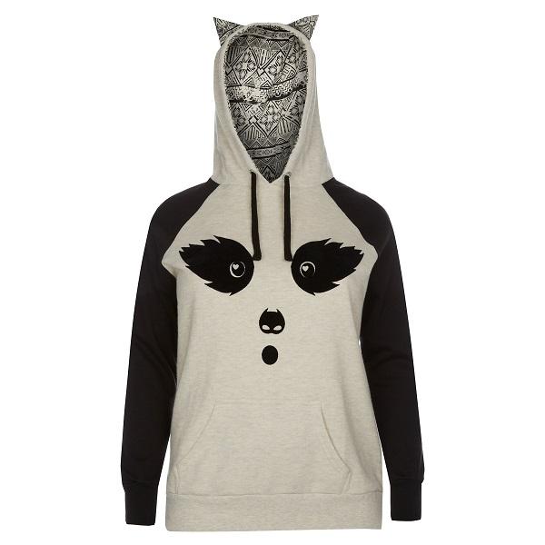 newlook-inspire-grey-contrast-aztec-racoon-ears-hoodie