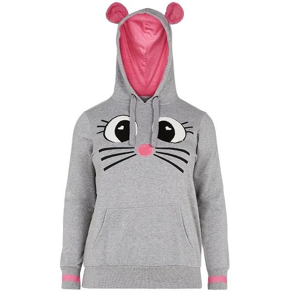newlook inspire-grey-mouse-ears-hoodie