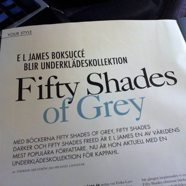 50 shades of grey KappAhl E.L. James