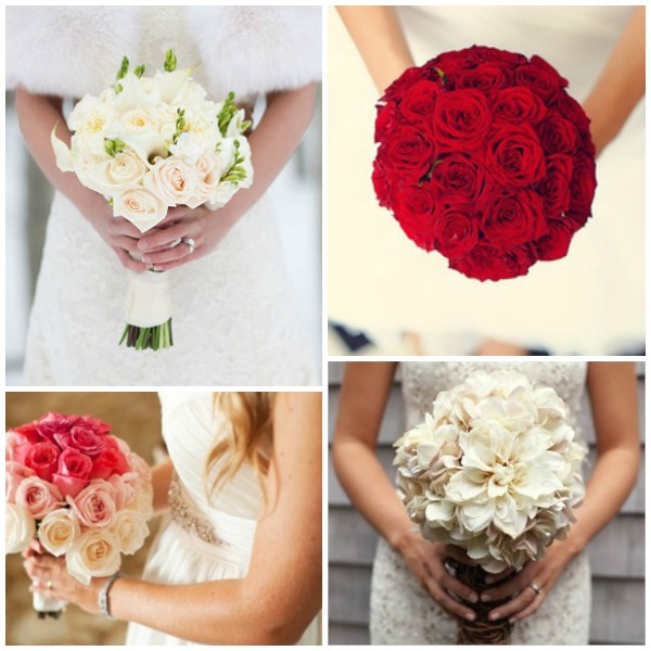 Brud buketts inspiration för brud till vinter bröllop
