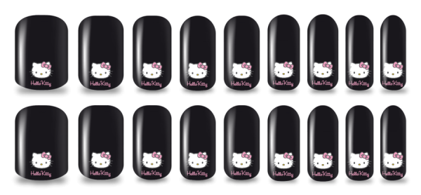 nailskins hello kitty