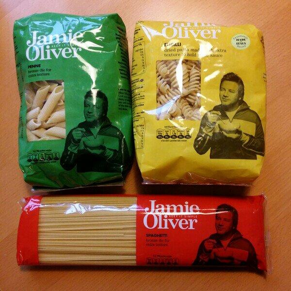 Jamie Oliver pasta från Citti
