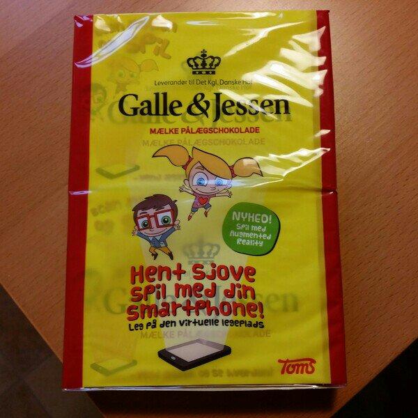 Galle & Jessen chokladpålägg