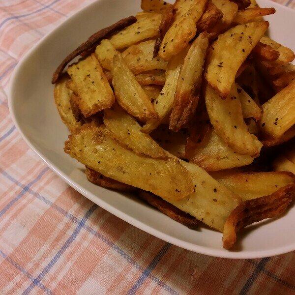 Sat'n Pepper fries från Lamb Weston