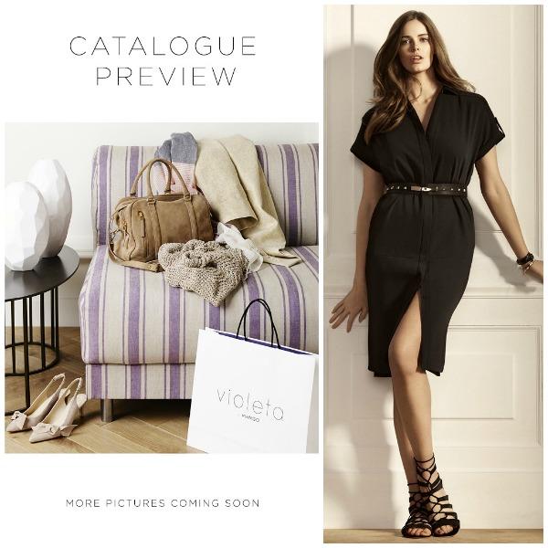 Inspirationsbilder från Mangos nya plus size klädmärke Violeta, våren 2014