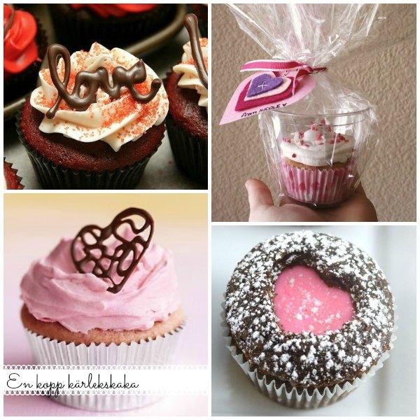 Baka cupcakes och gör dom lite roligare med choklad dekorationer eller fyllningar