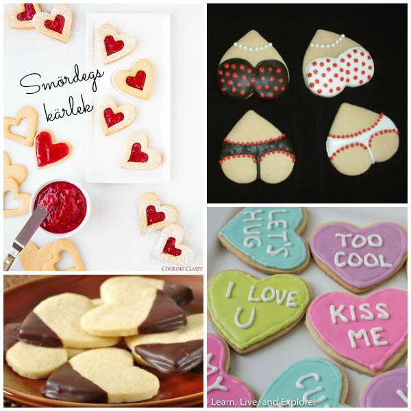 Baka söta, snuskiga kakor till alla hjärtansdag