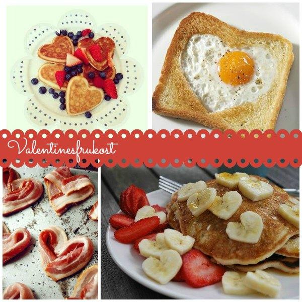 Söta frukostar att överaska med på alla hjärtans dag
