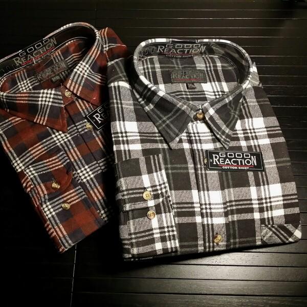 flannel skjortor från Gekås i Ullared
