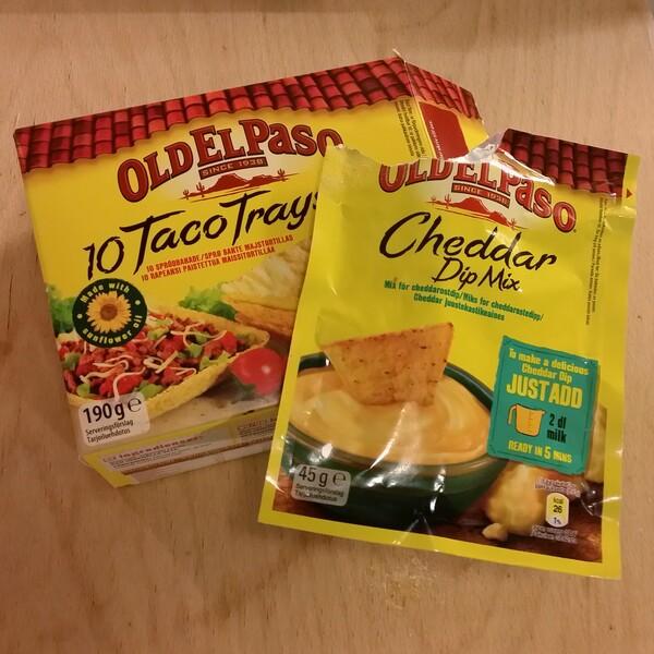 Taco - fajita tillbehör från old el paso