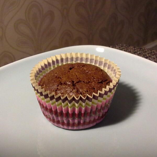 Laktosfri brownie muffins