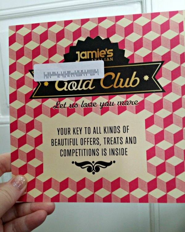 Jamie´s Italian gold club