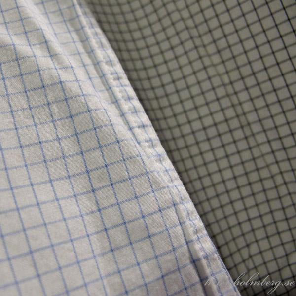 Rutiga skjortor från Dressman åt maken