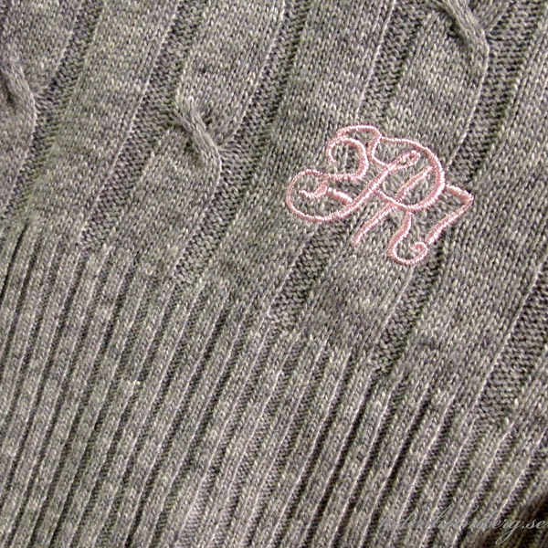Grå kofta / cardigan från KappAhls Hampton republic serie