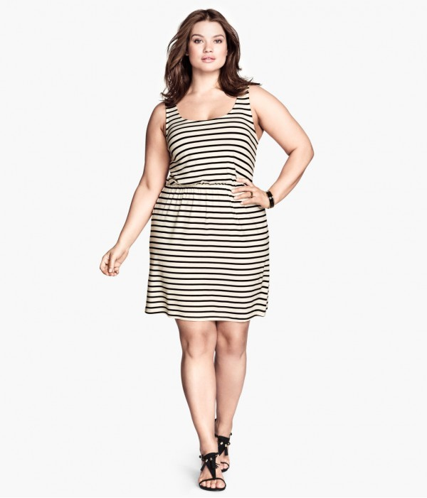 H&M+ klänning