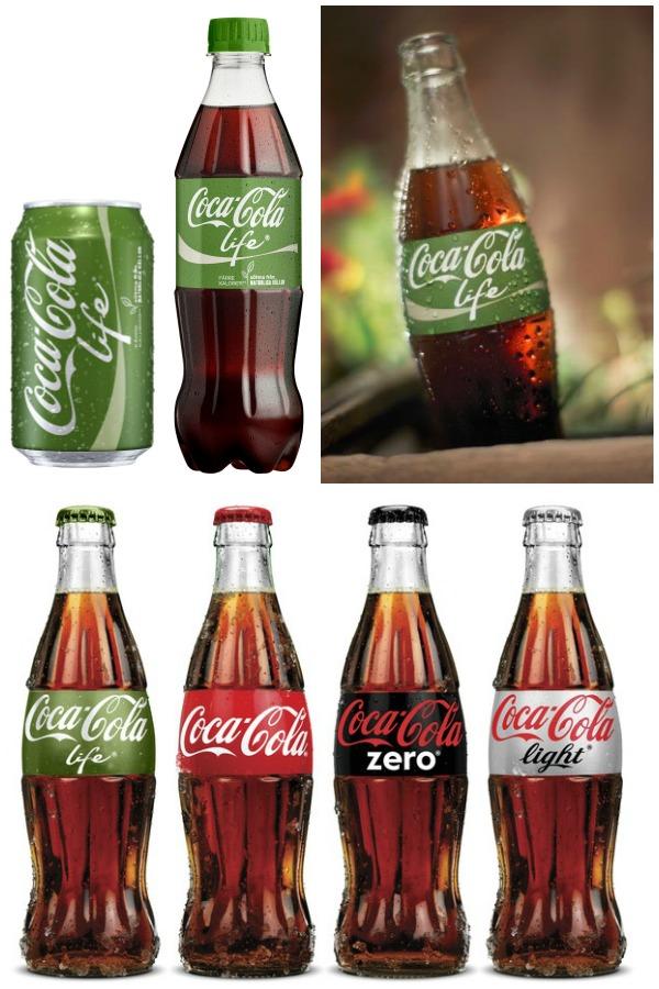 Coca Cola Life med stevia och utan aspartan