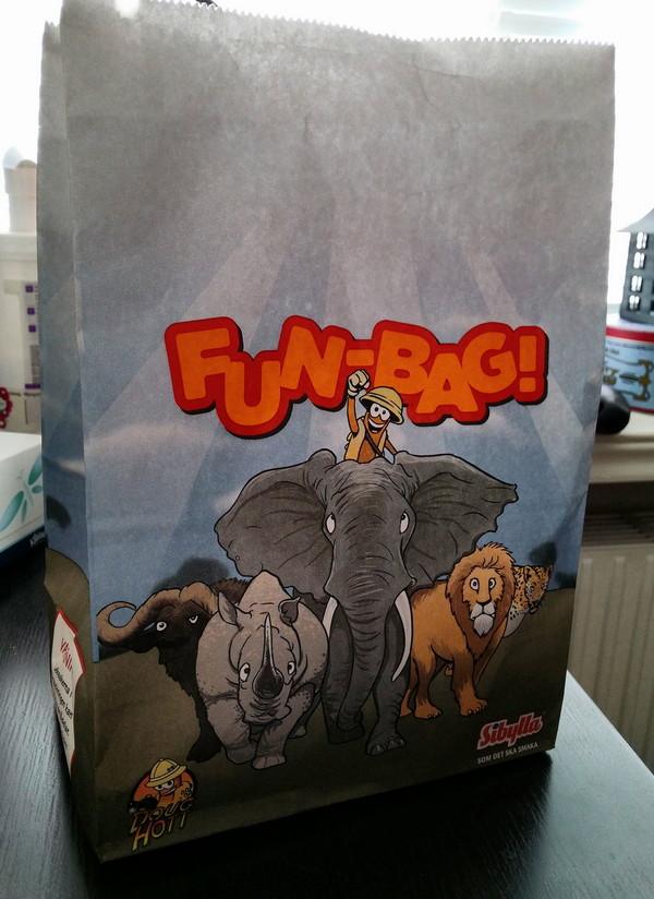 Hamburgare - funbox från Sibylla