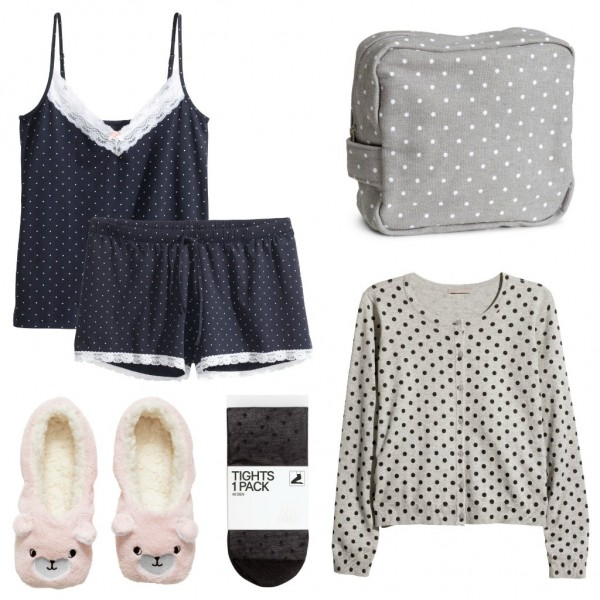 h&m polka dot crawings